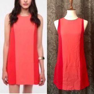 🆕 COOPERATIVE UO Color Block Mod Mini Shift Dress
